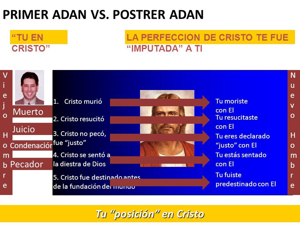 Viejo HombreViejo Hombre Muerto Juicio Condenación Pecador PRIMER ADAN VS.