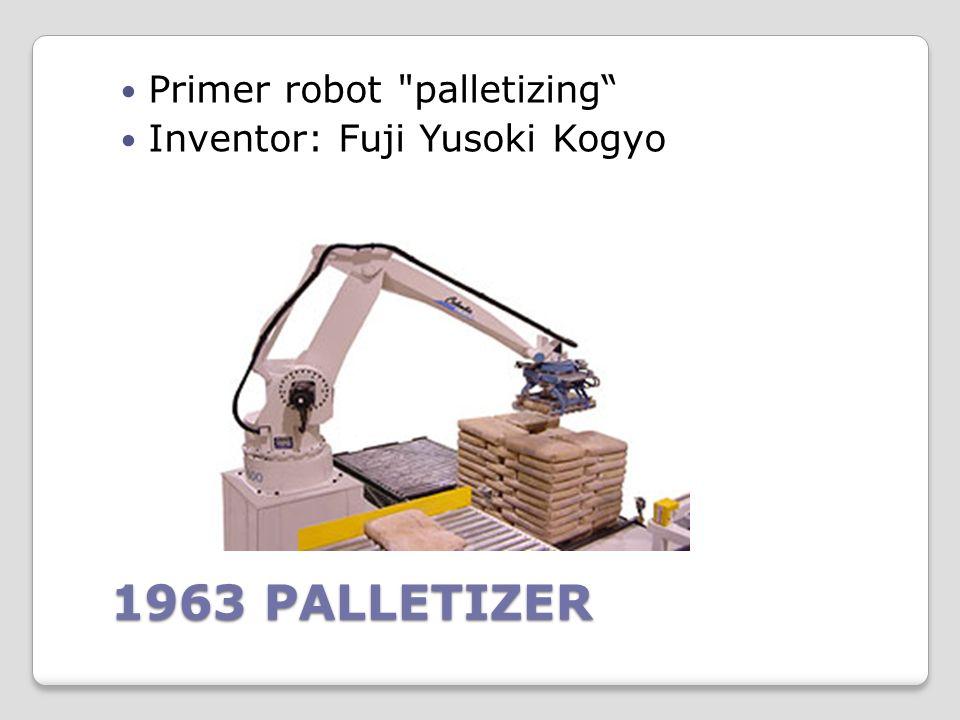 En 1960 se introdujo el primer robot