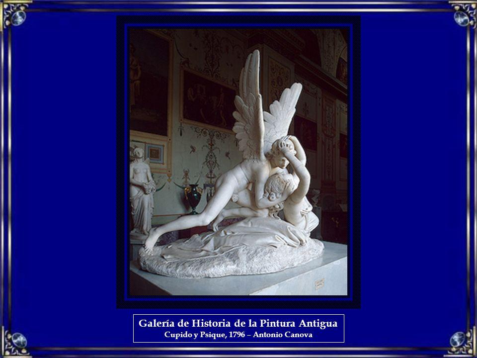 Galería de Historia de la Pintura Antigua Cupido y Psique, 1796 – Antonio Canova
