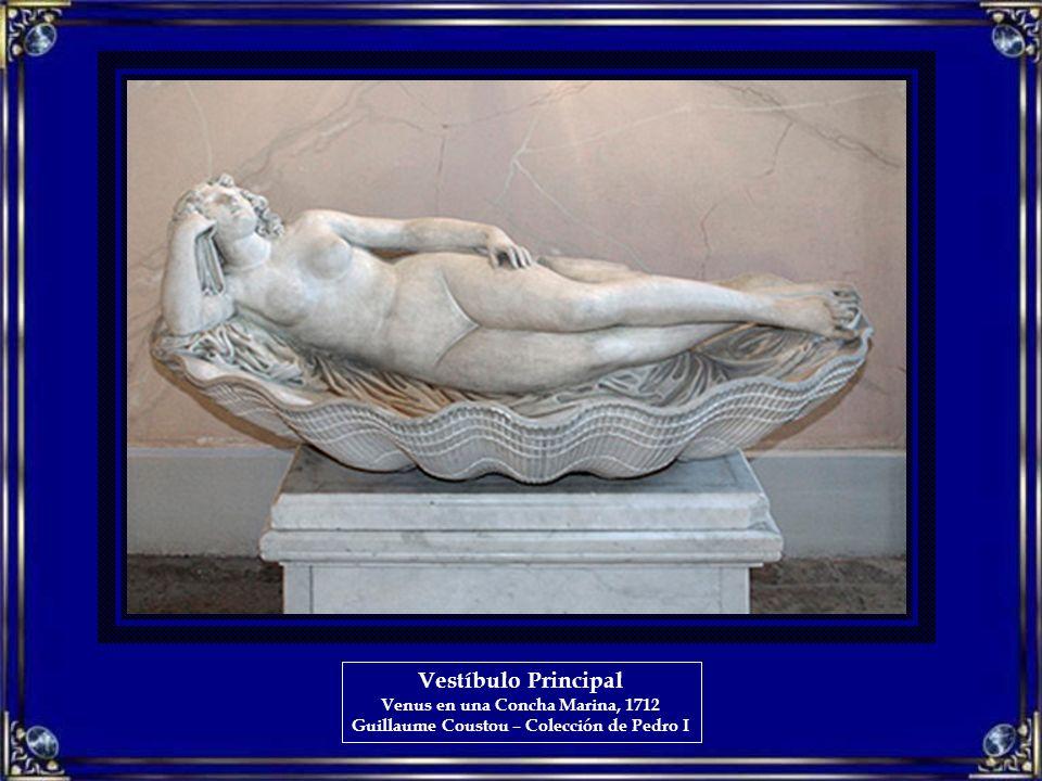 Vestíbulo Principal Venus en una Concha Marina, 1712 Guillaume Coustou – Colección de Pedro I