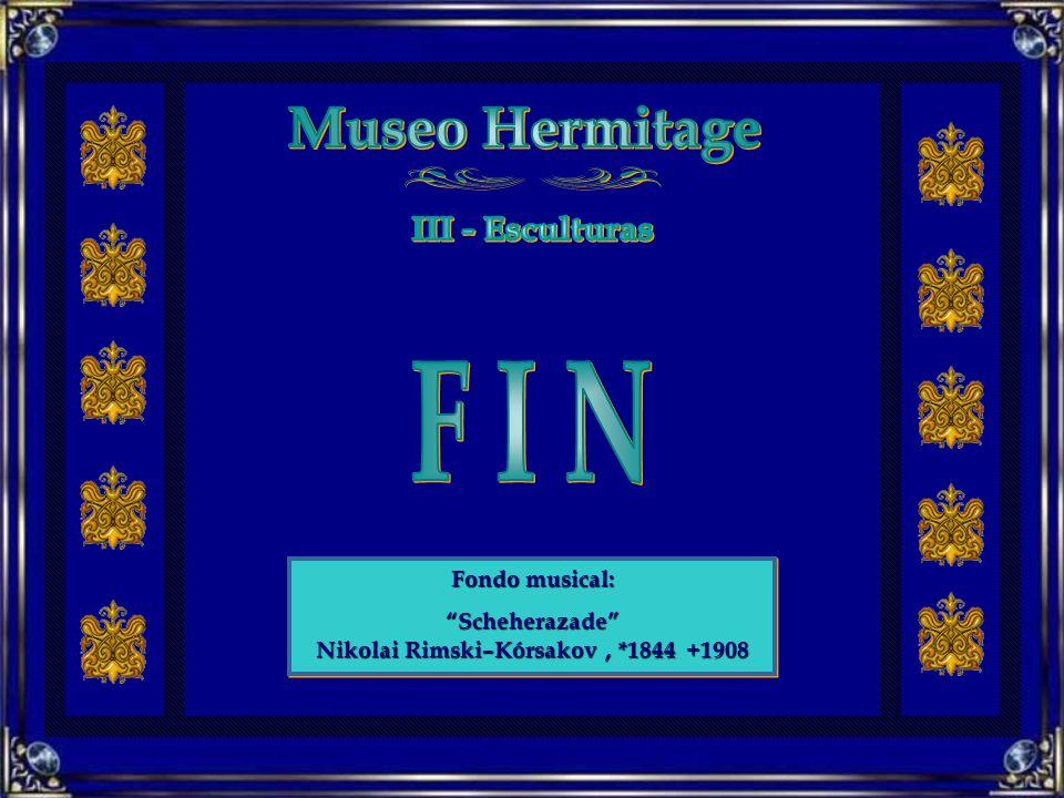 Fondo musical: Scheherazade Nikolai Rimski–Kórsakov, *1844 +1908 Fondo musical: Scheherazade Nikolai Rimski–Kórsakov, *1844 +1908