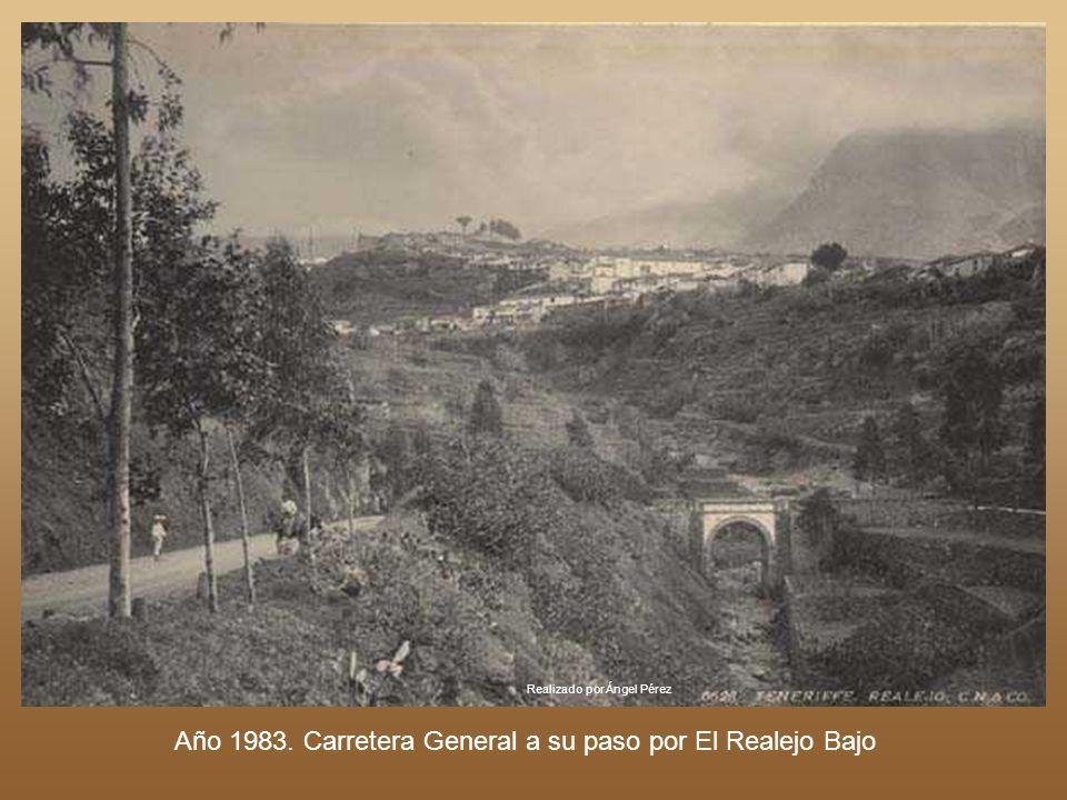 Realizado por Ángel Pérez Callejón en la Villa de La Orotava. Año 1925