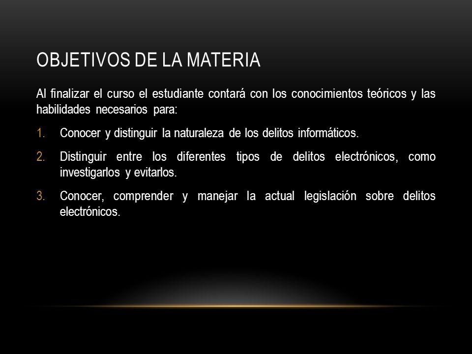 TEMAS SUSTANTIVOS I.