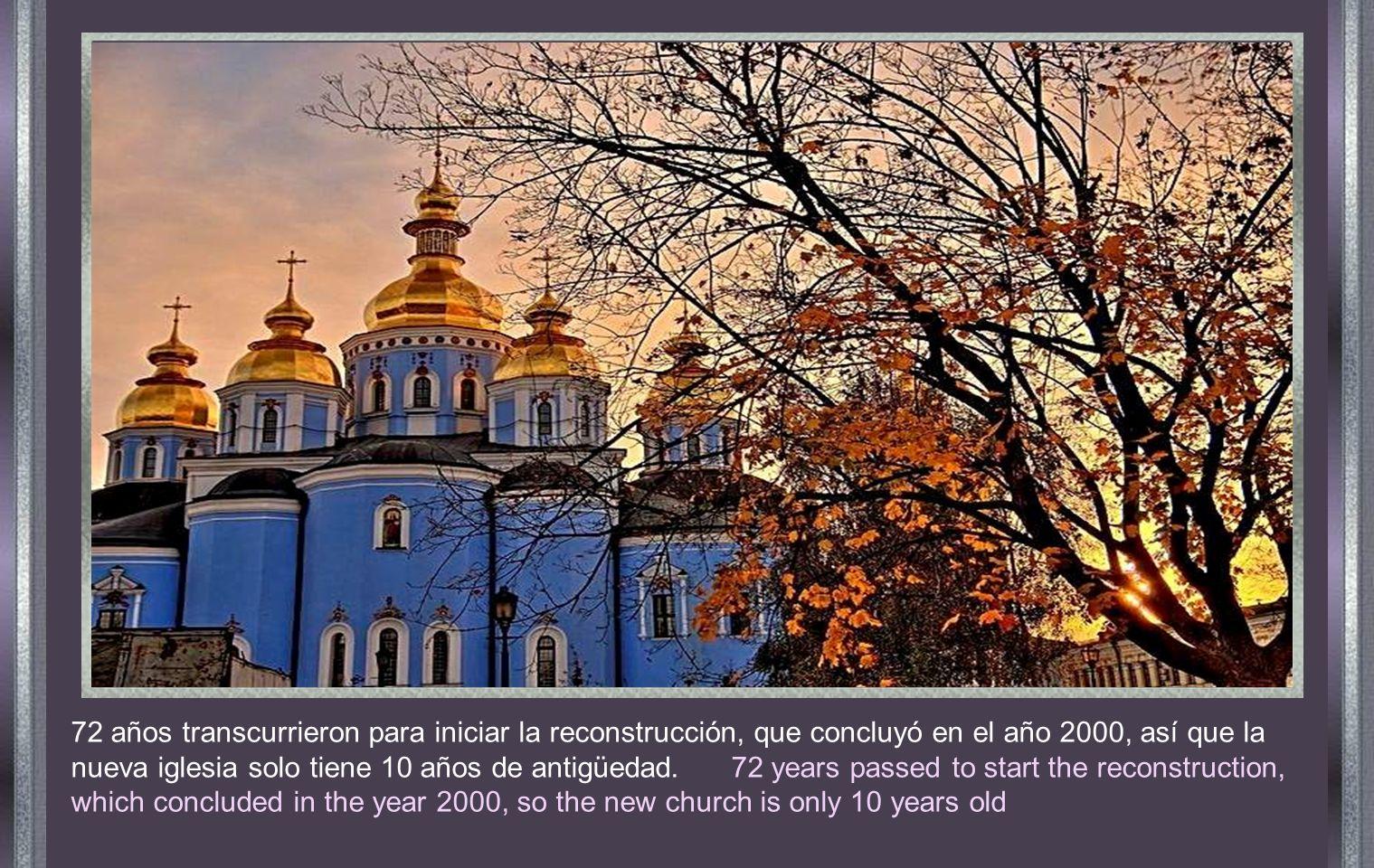 KIEV RUSIA - Catedral de San Michel KIEV RUSSIA - Cathedral of San Michel 1919 fue el año mas dramático.