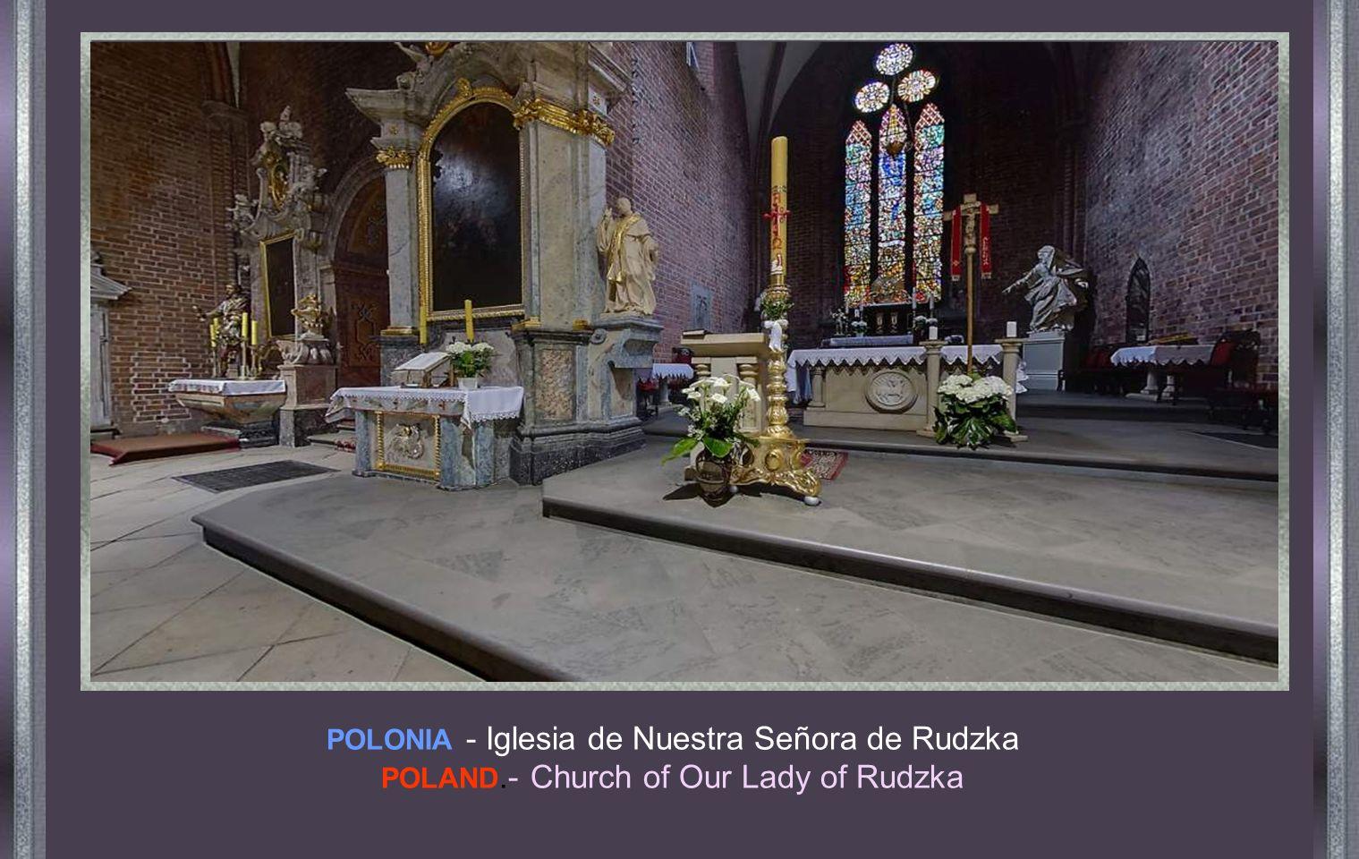 POLONIA.- Iglesia parroquial de Santa Teresa POLAND - Parish Church of Saint Teresa