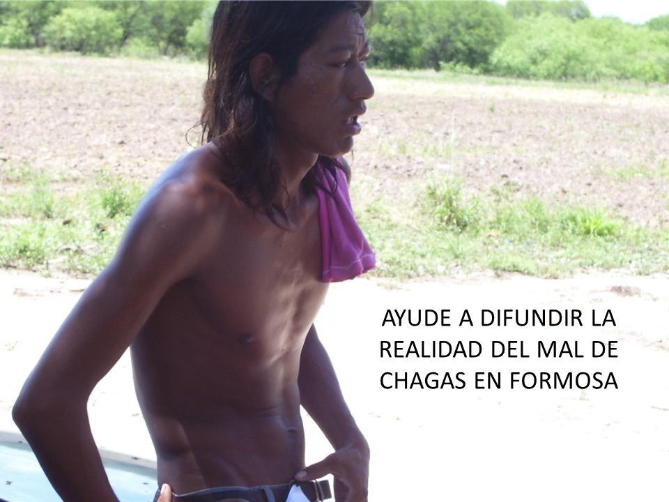 AYUDE A DIFUNDIR LA REALIDAD DEL MAL DE CHAGAS EN FORMOSA