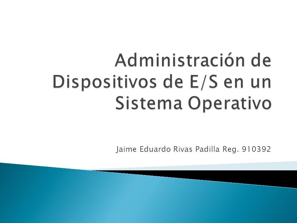 Jaime Eduardo Rivas Padilla Reg. 910392