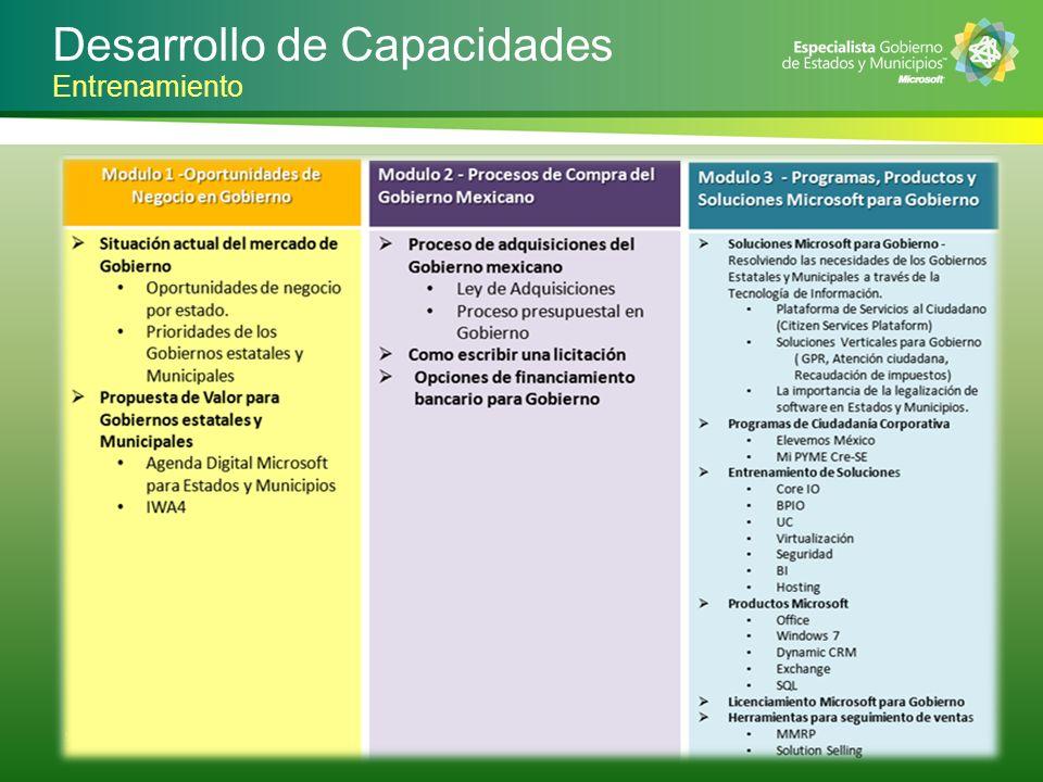 Desarrollo de Capacidades 5   Entrenamiento