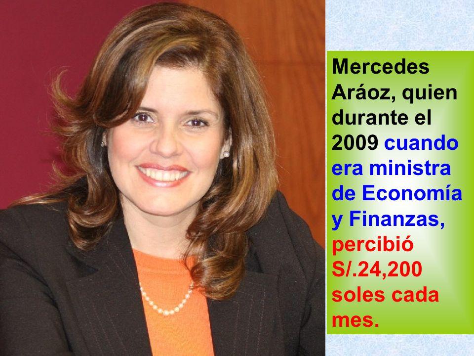 Alan García gana 15,600 soles pero hasta el personal que trabaja en el despacho presidencial a su servicio gana más que él.