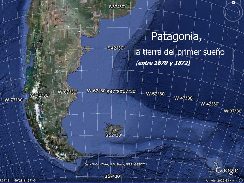 Patagonia, la tierra del primer sueño (entre 1870 y 1872)