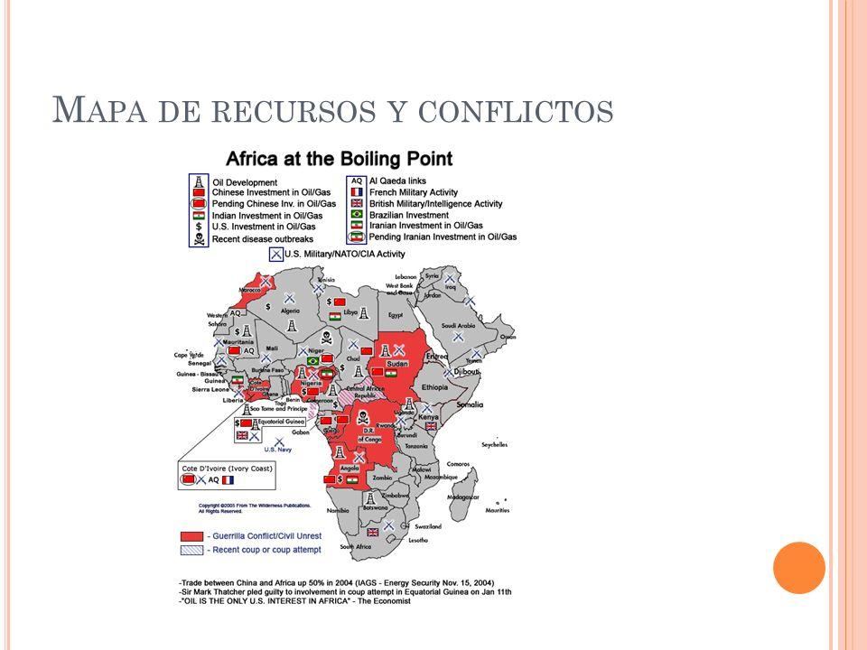 M APA DE RECURSOS Y CONFLICTOS