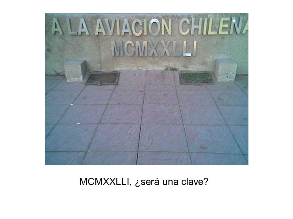MCMXXLLI, ¿será una clave?