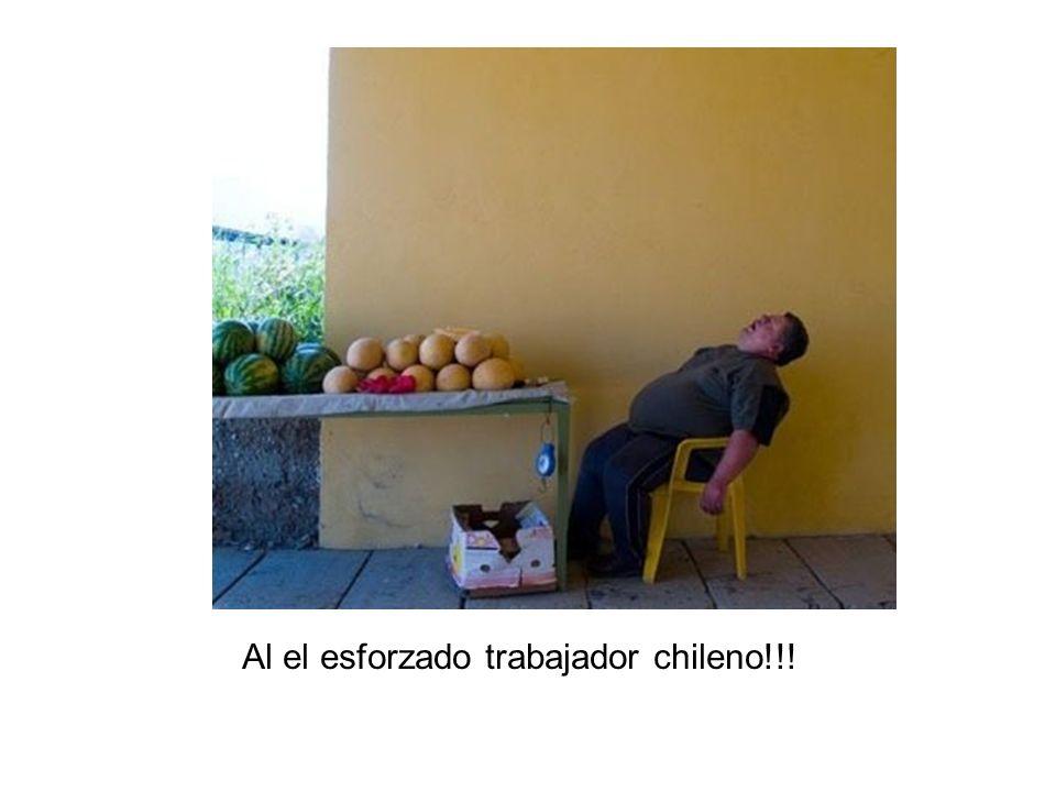 Al el esforzado trabajador chileno!!!