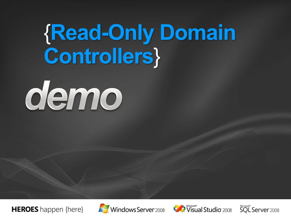 {Read-Only Domain Controllers}