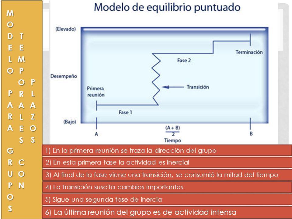 MODELO DEL COMPORTAMIENTO EN GRUPOS