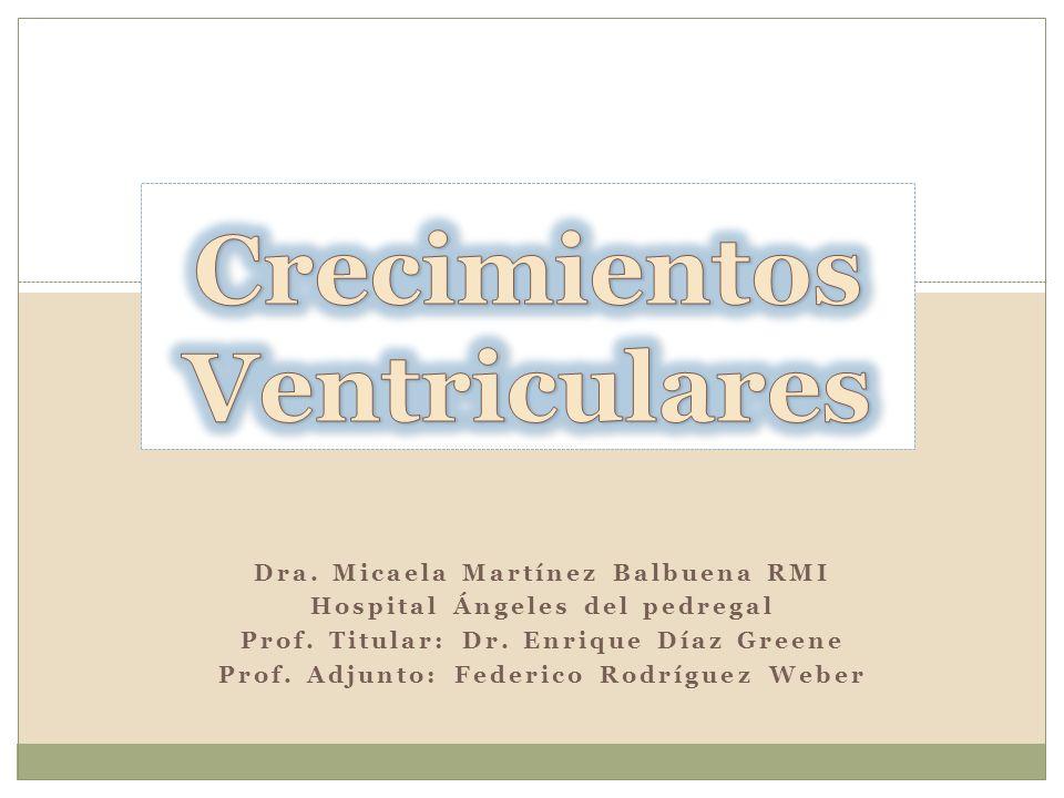 Dra. Micaela Martínez Balbuena RMI Hospital Ángeles del pedregal Prof. Titular: Dr. Enrique Díaz Greene Prof. Adjunto: Federico Rodríguez Weber