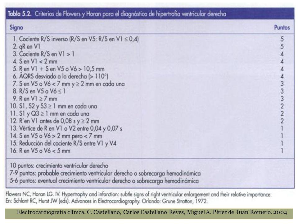 Electrocardiografía clínica. C. Castellano, Carlos Castellano Reyes, Miguel A. Pérez de Juan Romero. 2004