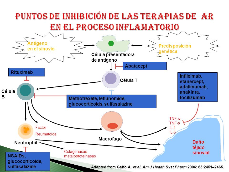 Adapted from Gaffo A, et al.Am J Health Syst Pharm 2006; 63:2451–2465.