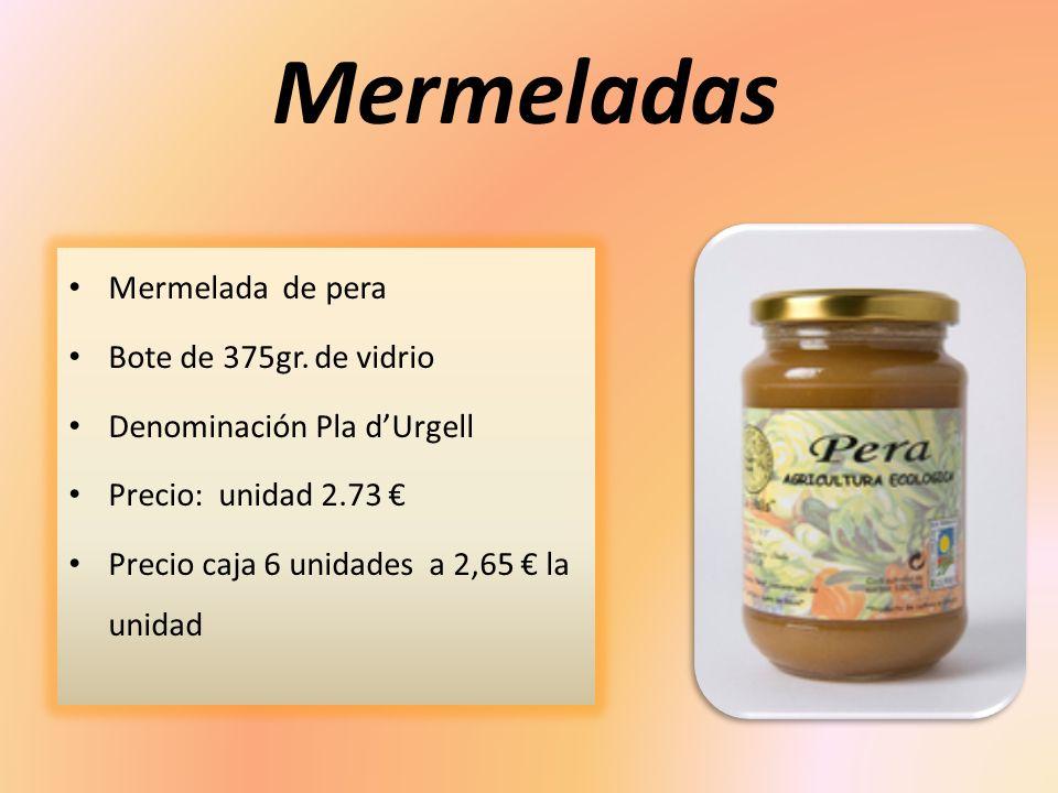 Mermeladas Mermelada de manzana Bote de 375gr.