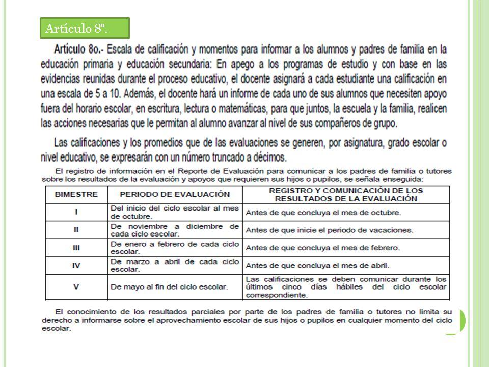 C RITERIOS DE ACREDITACIÓN DE GRADO O NIVEL EDUCATIVO : SE ESTABLECEN PARA CADA PERIODO DE LA EDUCACIÓN BÁSICA, (1 º A 3 º DE PREESCOLAR, 1 º A 3 º DE PRIMARIA, 4 º A 6 º DE PRIMARIA Y 1 º A 3 º DE SECUNDARIA ) LOS SIGUIENTES CRITERIOS DE ACREDITACIÓN Y DE PROMOCIÓN DE GRADO O NIVEL EDUCATIVO : Artículo 16º.