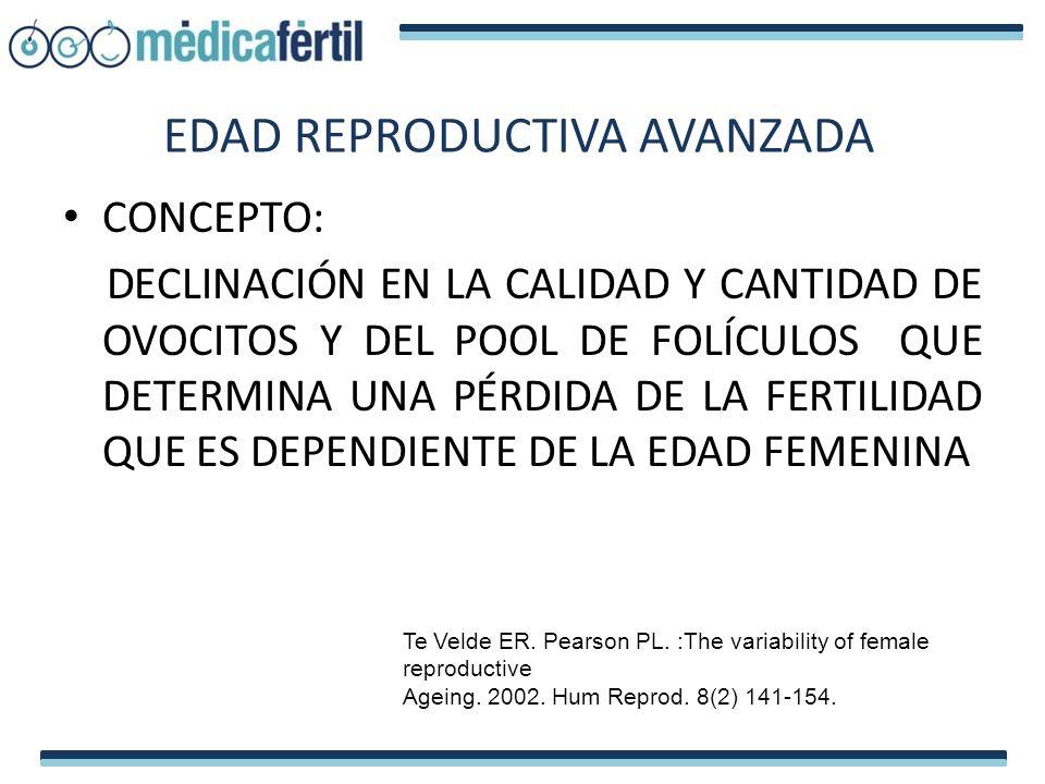 REPRODUCCIÓN EN EDAD MATERNA AVANZADA