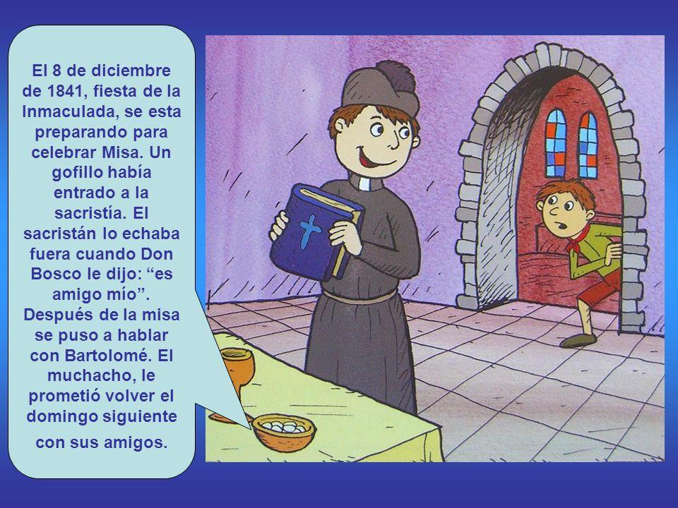 Pero Don Bosco no lo había visto todo aún. Don Cafasso lo llevó a las cárceles donde estuvo con muchachos presos. Con frecuencia acababan robando para