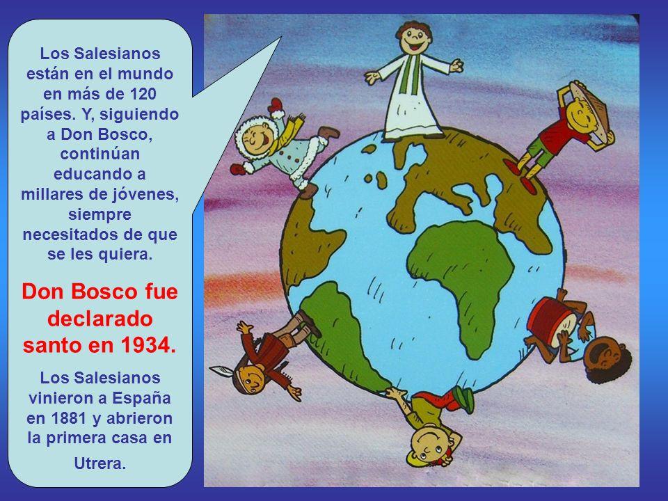 Don Bosco puso en marcha una manera de educar propia. Se denomina Sistema Preventivo. Se apoya en tres elementos: Razón, Religión y Amor. Ayuda a los