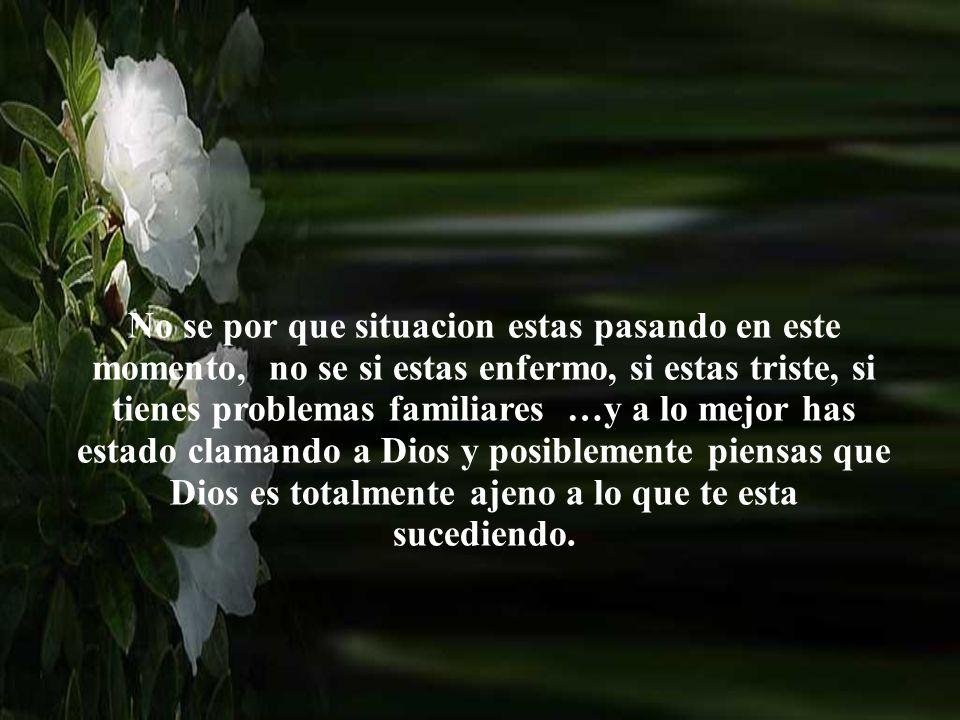 Necesitas saber que Jesùs esta contigo en medio De las tormentas de la vida. Jesús ve tu situacion Visita: http://www.RenuevoDePlenitud.comhttp://www.
