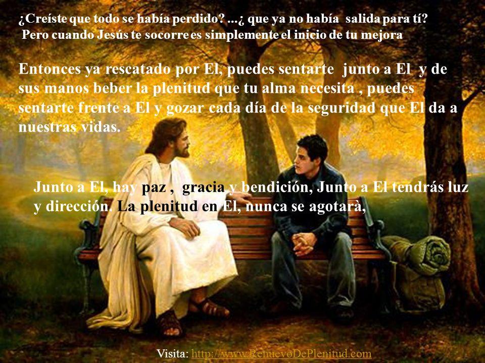 El no te ha ignorado, …El te ha estado viendo. El ha intercedido por ti delante del padre, en cada minuto dificil que has tenido para que resistas, …y