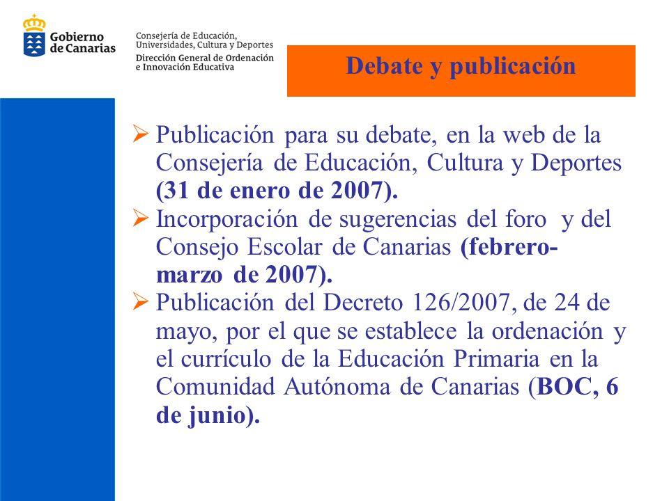 Educación Primaria e) Conocer, apreciar y respetar los aspectos culturales, históricos, geográficos, naturales, sociales y lingüísticos de la Comunidad Autónoma de Canarias, valorando las posibilidades de acción para su conservación.