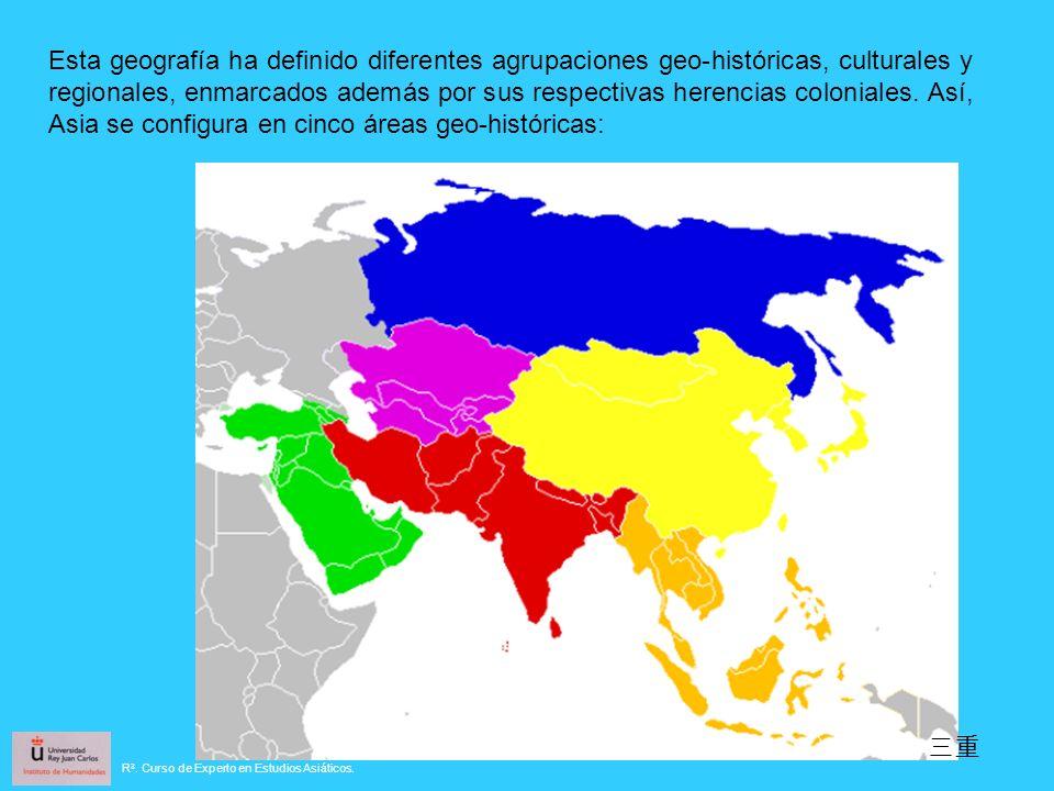 Esta geografía ha definido diferentes agrupaciones geo-históricas, culturales y regionales, enmarcados además por sus respectivas herencias coloniales.