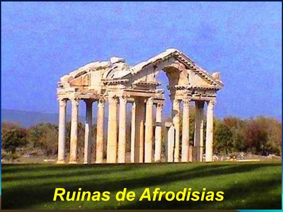 Efeso acogió todo tipo de religiones, egipcios, judios, adoradores de Artemisa u otras divinidades romanas, cristianos.