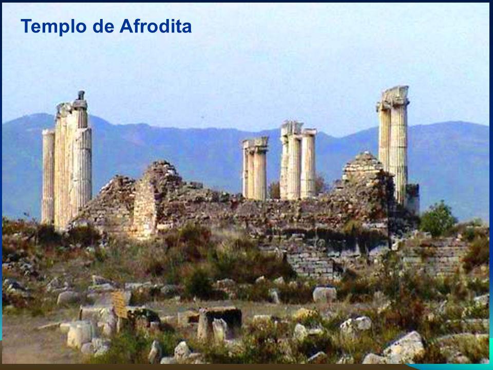 El Teatro: Su construcción terminó en el 27 a.C.