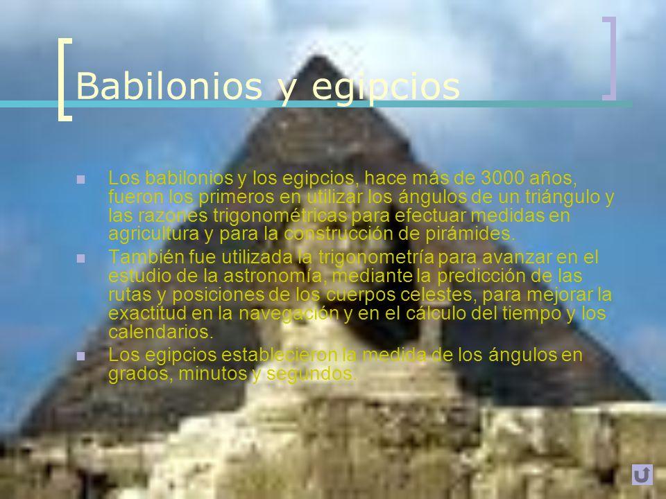 Introducción Definición: Rama de las matemáticas que estudia las relaciones entre los lados y los ángulos de los triángulos. Desarrollo de los inicios