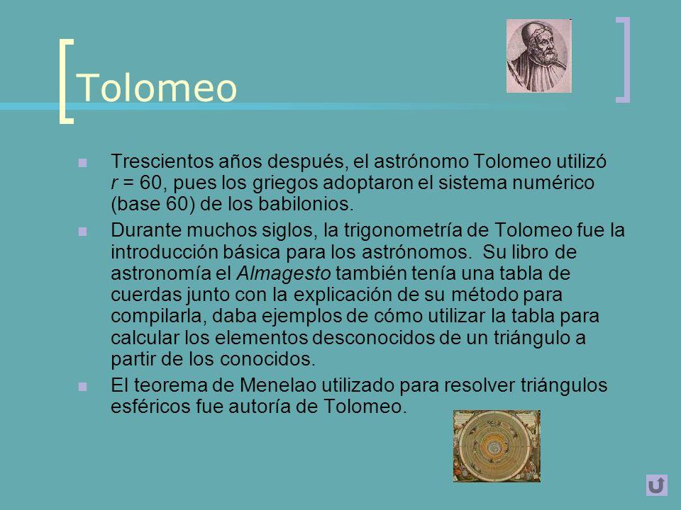Grecia, con Hiparco de Nicea Destaca el matemático y astrónomo Griego Hiparco de Nicea, por haber sido uno de los principales desarrolladores de la Tr