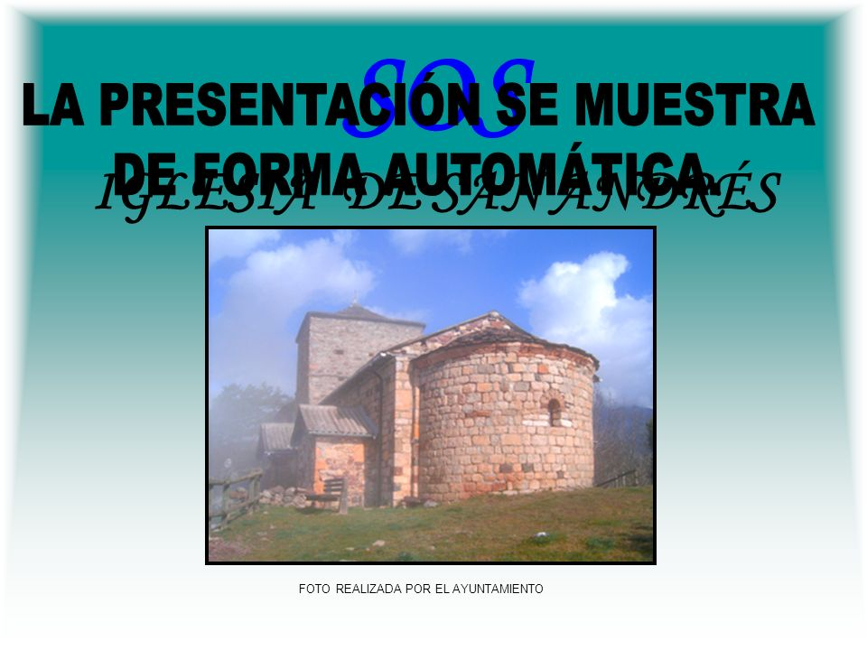 El texto y plano correspondientes a la Iglesia de San Andrés, que se detallan a continuación, han sido total o parcialmente copiados del libro Guía de la arquitectura románica en el Valle de Benasque con autorización de su autor D.