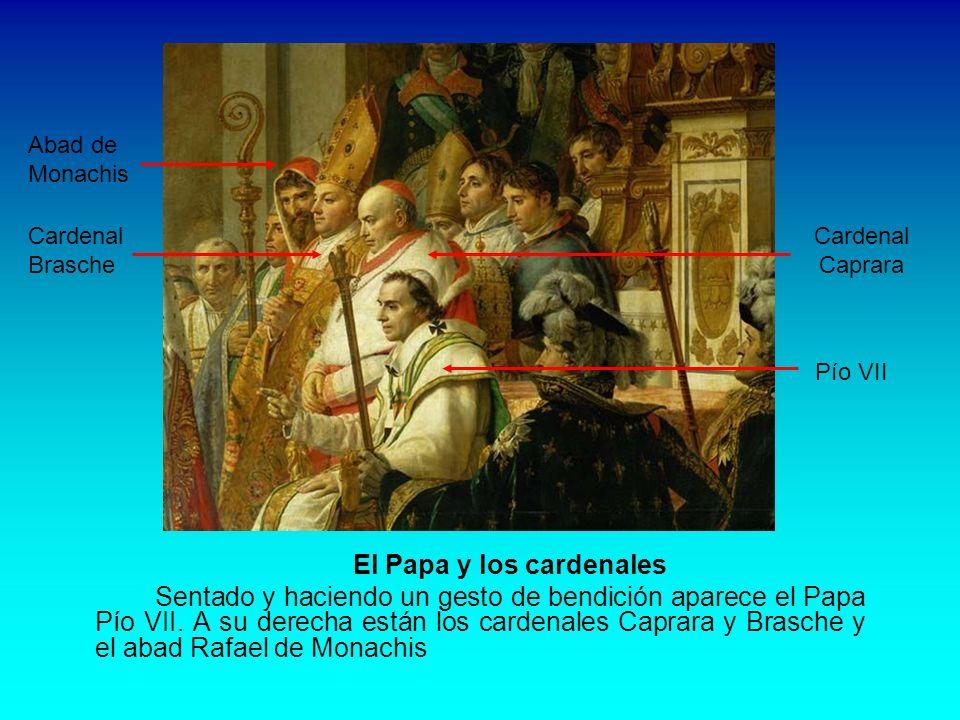 Las hermanas y cuñadas De izquierda a derecha: Carolina, Paulina y Elisa, hermanas de Napoleón; a continuación Hortensia, hija de Josefina y esposa de