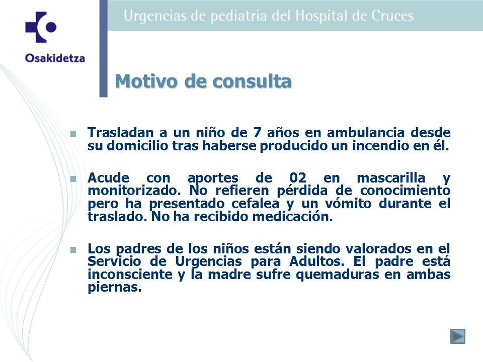 El paciente permaneció en observación hospitalaria durante 20 horas.