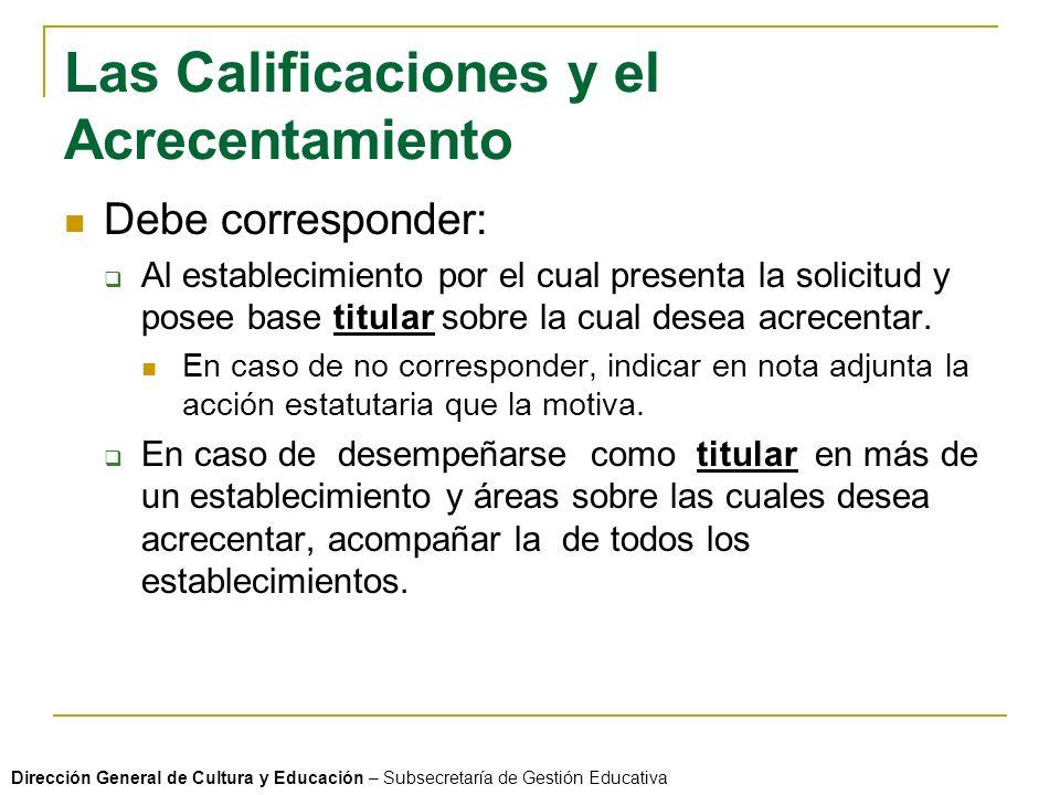 ARTICULOS RELACIONADOS CON EL ACRECENTAMIENTO ARTICULO 71°: Los acrecentamientos se realizarán en el movimiento docente, con la periodicidad establecida para el ingreso en la docencia.