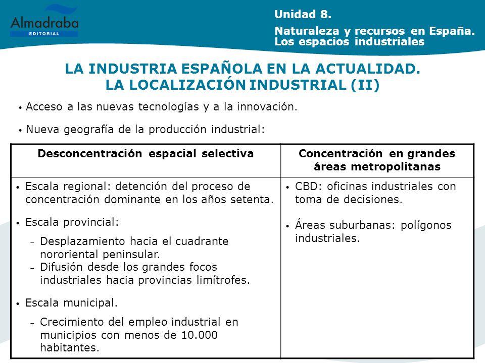 LA INDUSTRIA ESPAÑOLA EN LA ACTUALIDAD.