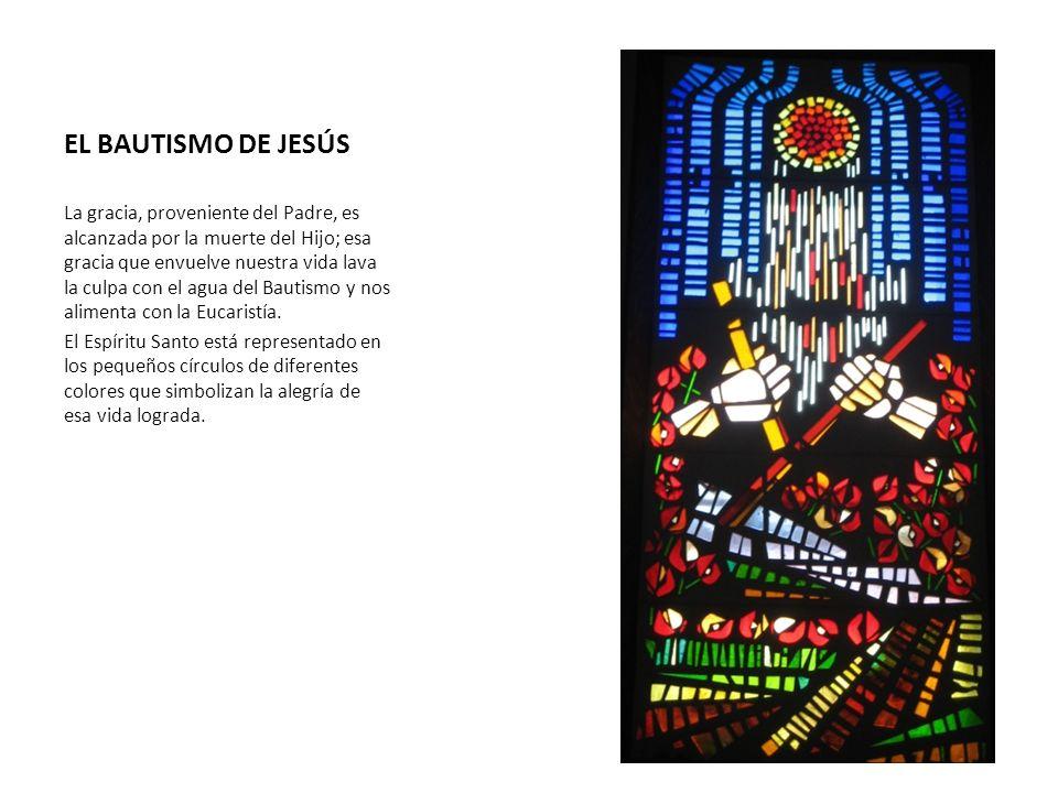 EL BAUTISMO DE JESÚS La gracia, proveniente del Padre, es alcanzada por la muerte del Hijo; esa gracia que envuelve nuestra vida lava la culpa con el