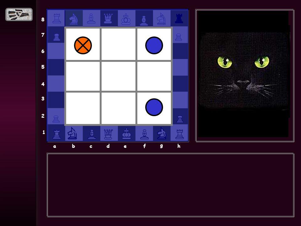 8 7 6 5 4 3 2 1 abcdef g h Mi nombre es Chess, soy el gato de Alekhine, te reto a que juegues al gato, o sea conmigo, …. por cierto es imposible que m