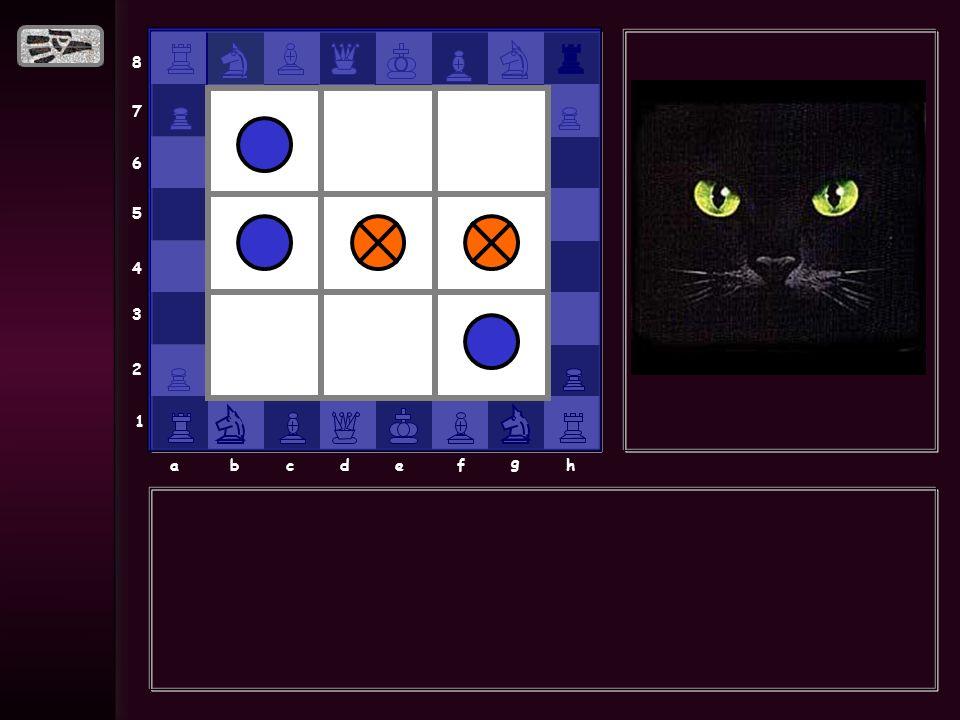 8 7 6 5 4 3 2 1 abcdef g h EMPATE 2 Si eres buen jugador debes de empatar 4 veces.