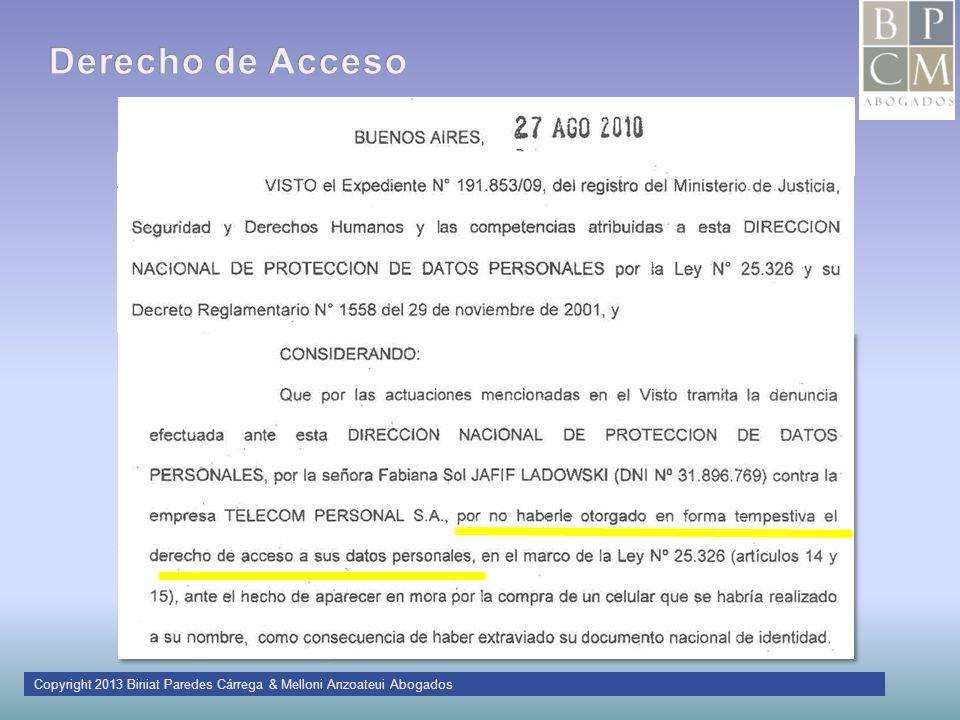 Copyright 2013 Biniat Paredes Cárrega & Melloni Anzoateui Abogados