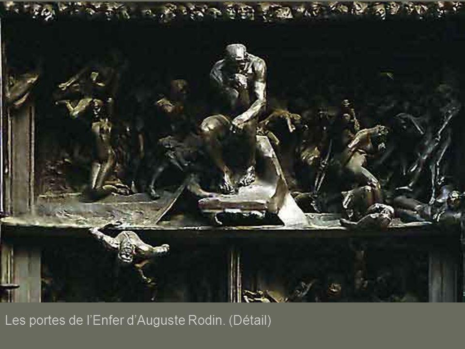 Les portes de lEnfer dAuguste Rodin. (Détail)