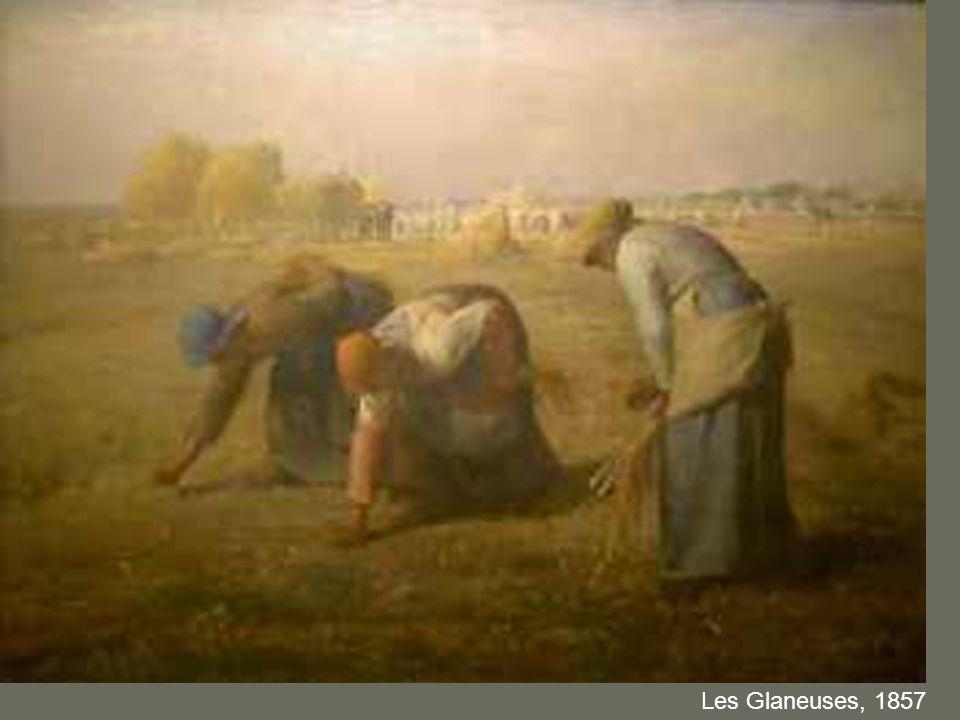 Les Glaneuses, 1857