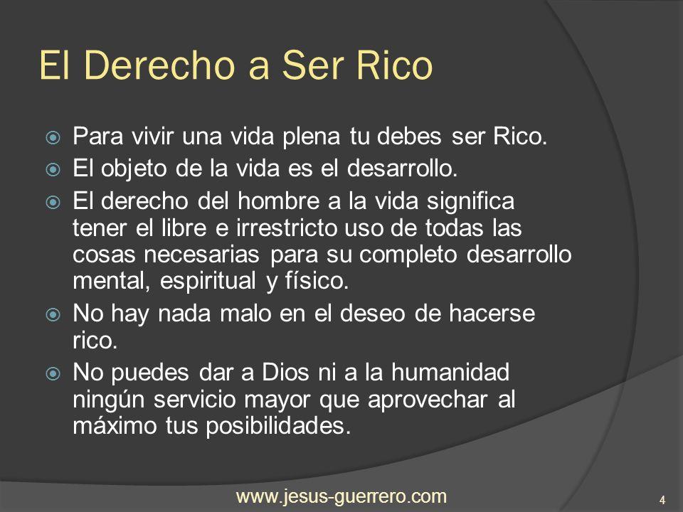 Hay una Ciencia para hacerse Rico Hay una Ciencia para hacerse Rico, y es una ciencia exacta.