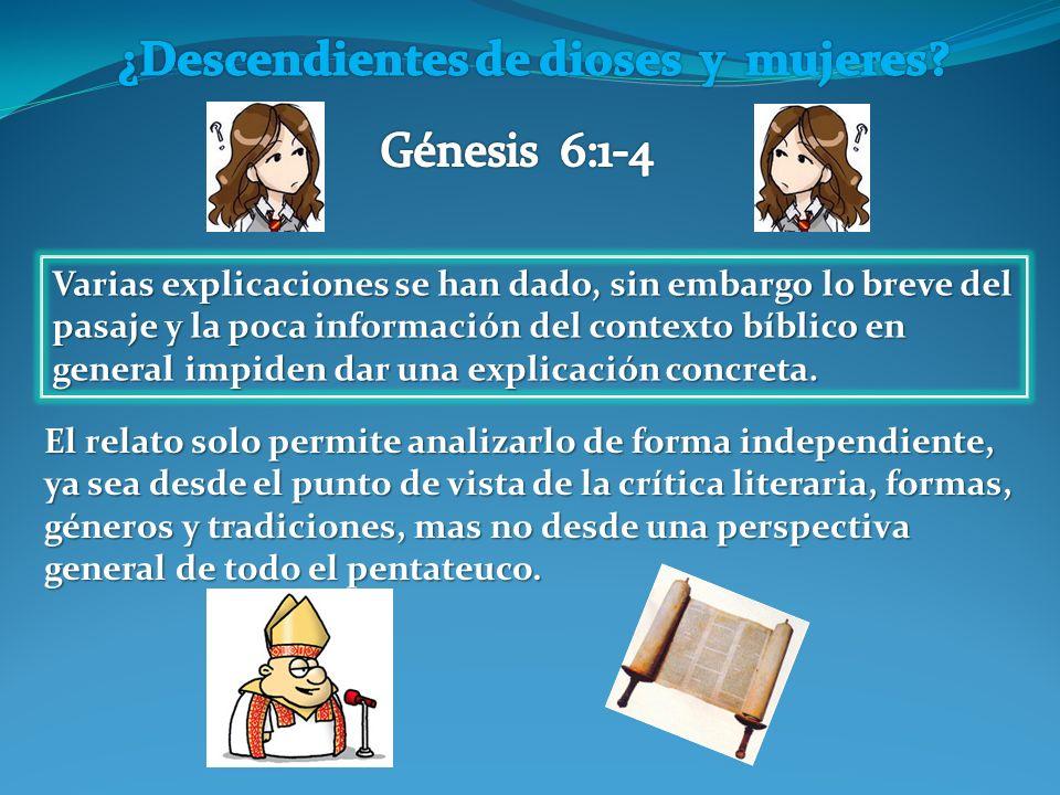 Varias explicaciones se han dado, sin embargo lo breve del pasaje y la poca información del contexto bíblico en general impiden dar una explicación concreta.