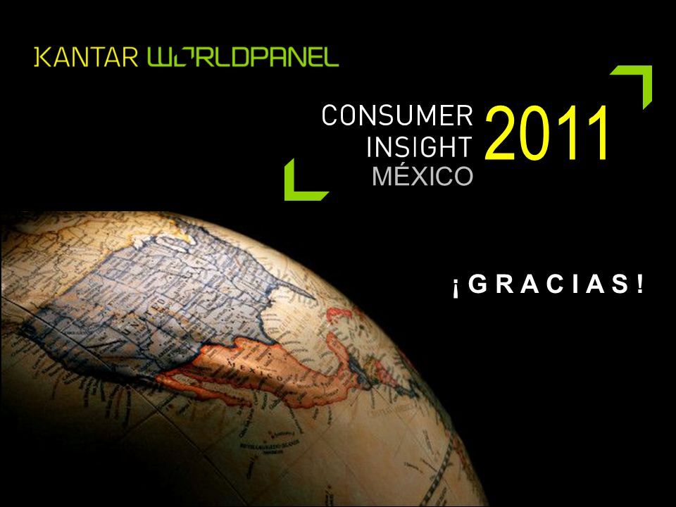 MÉXICO 2011 ¡ G R A C I A S !