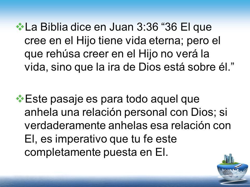 IV- Pongamos la fe en perspectiva La Fe, en todos los aspectos que hemos hablado encierra creencia, acción, confianza, y obediencia.